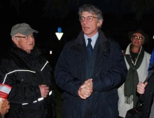David Sassoli a Villa Spada
