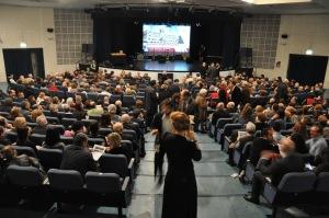 una visione del pubblico in sala