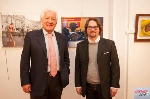 Il Procuratore Antonio Marini con Gianluca Morabito, curatore del Premio