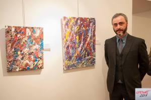 Antonio Curia, vincitore della categoria Pittura