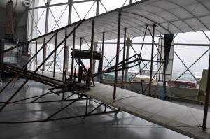 Copia dell'aereo dei fratelli Wright