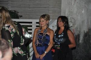 Patrizia Pellegrino con un'ospite