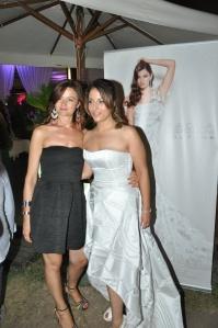 Paola Cipriani con la conduttrice Alessia Pellegrino