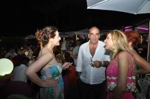 L'attrice Simona Borioni conversa con la scrittrice Iolanda Pomposelli