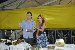 Lorenzo Flaherty e Camilla Nata