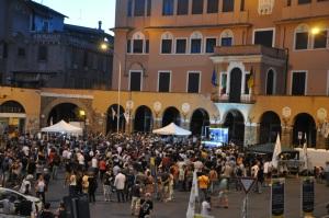 Piazza Sempione al crepuscolo