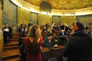 La sala Cavour presso il Ministero delle Politiche Agricole