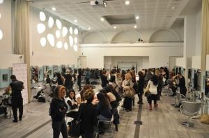 Il salone principale della Accemia L'Oréal