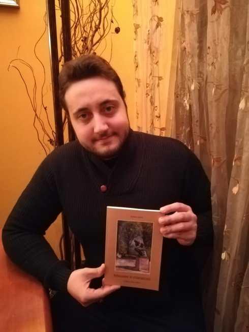 Foto - Andrea con libro