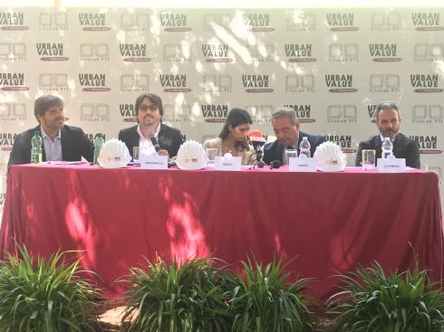 conferenza stampa di presentazione progetto Citylab971